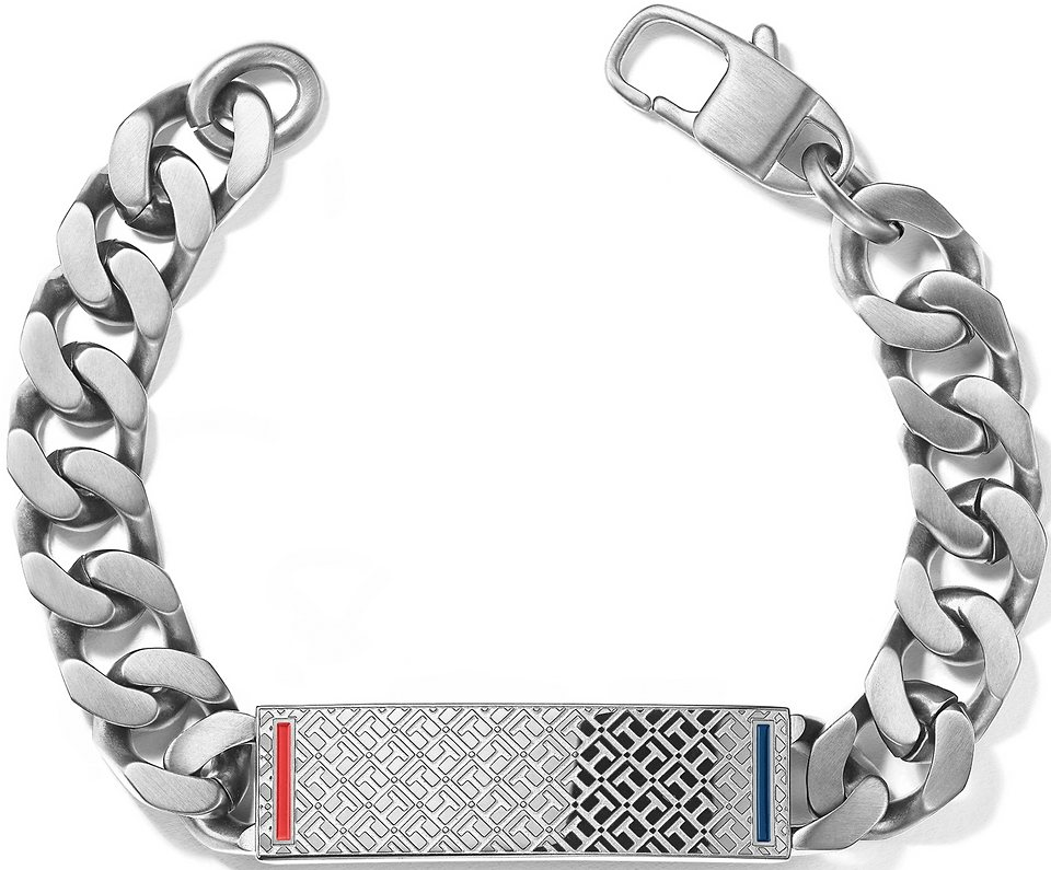 Tommy Hilfiger Jewelry Flachpanzerarmband, »2700683, MEN´S CASUAL« in Edelstahl