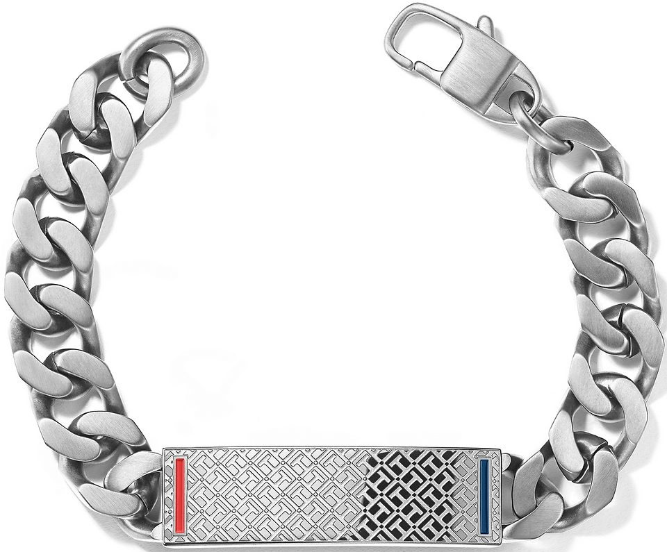 Tommy Hilfiger Jewelry Flachpanzerarmband, »2700683, MEN´S CASUAL«