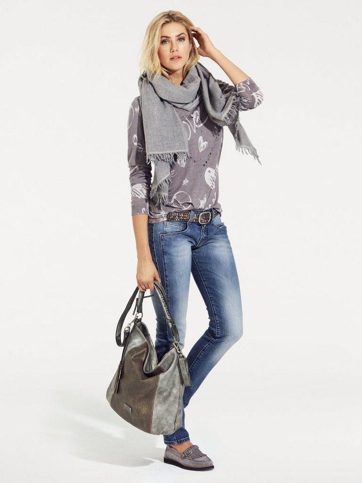 Tasche von SURI FREY in silberfarben/bronzefarben