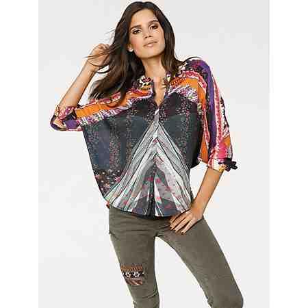 Oversized-Bluse von DESIGUAL