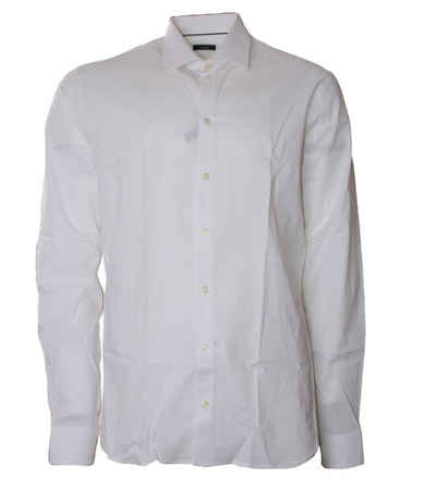 Van Laack Langarmhemd »van Laack Super Slim Fit Hemd klassisches Herren Hemd mit Kent Kragen Business-Hemd Weiß«