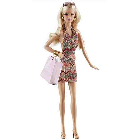 Mattel Puppe, »Barbie Collector Black Label® The Barbie Look™ City Shopper™«