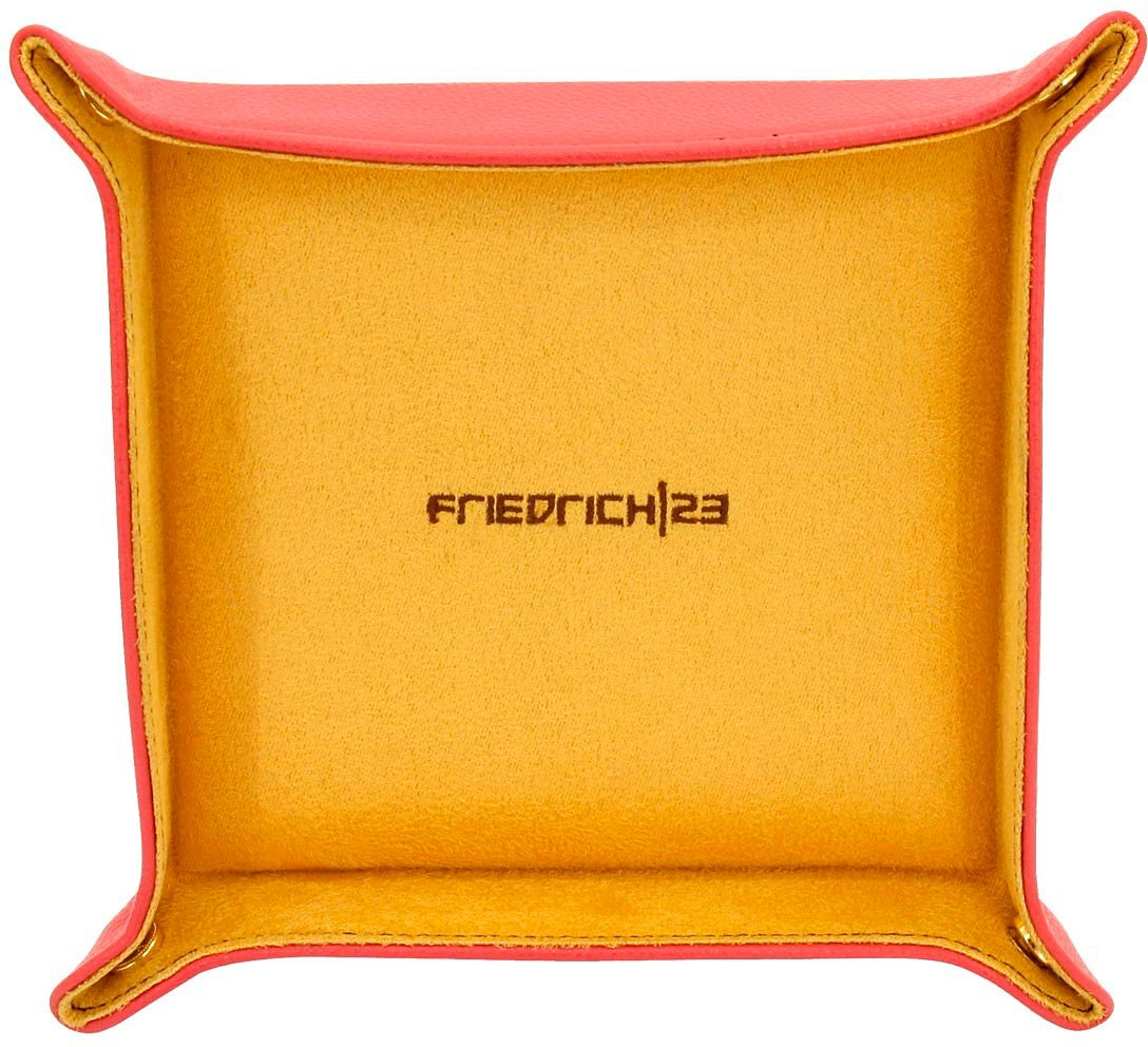 Friedrich23 Schmuckablage »Ascot, Vide Poche, 26116-4« (Set, 2 tlg) | Schmuck > Schmuckaufbewahrungen > Schmuckablage | Orange | Friedrich23
