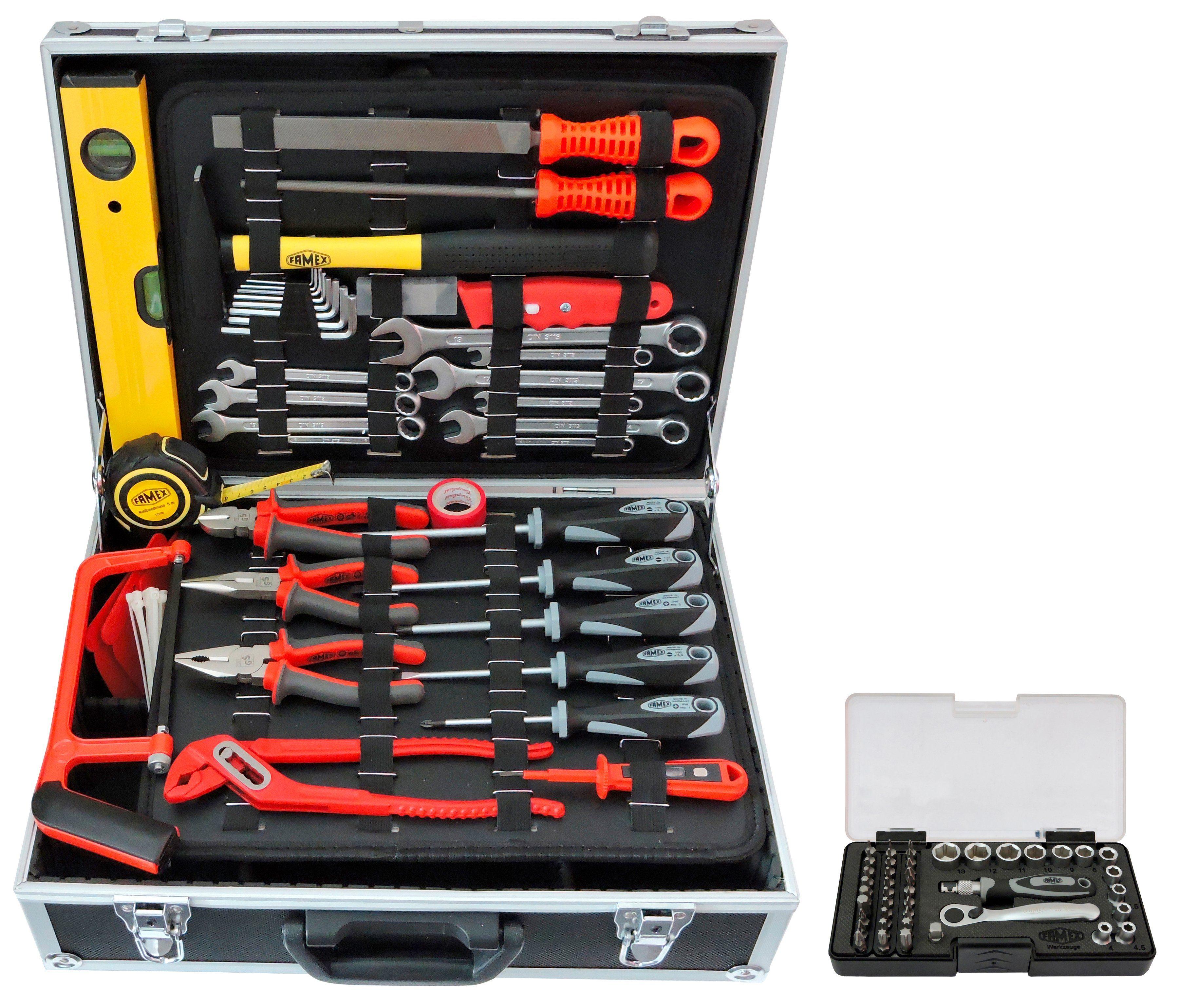 Sparset: Werkzeugkoffer »754-50« inkl. Steckschlüsselsatz