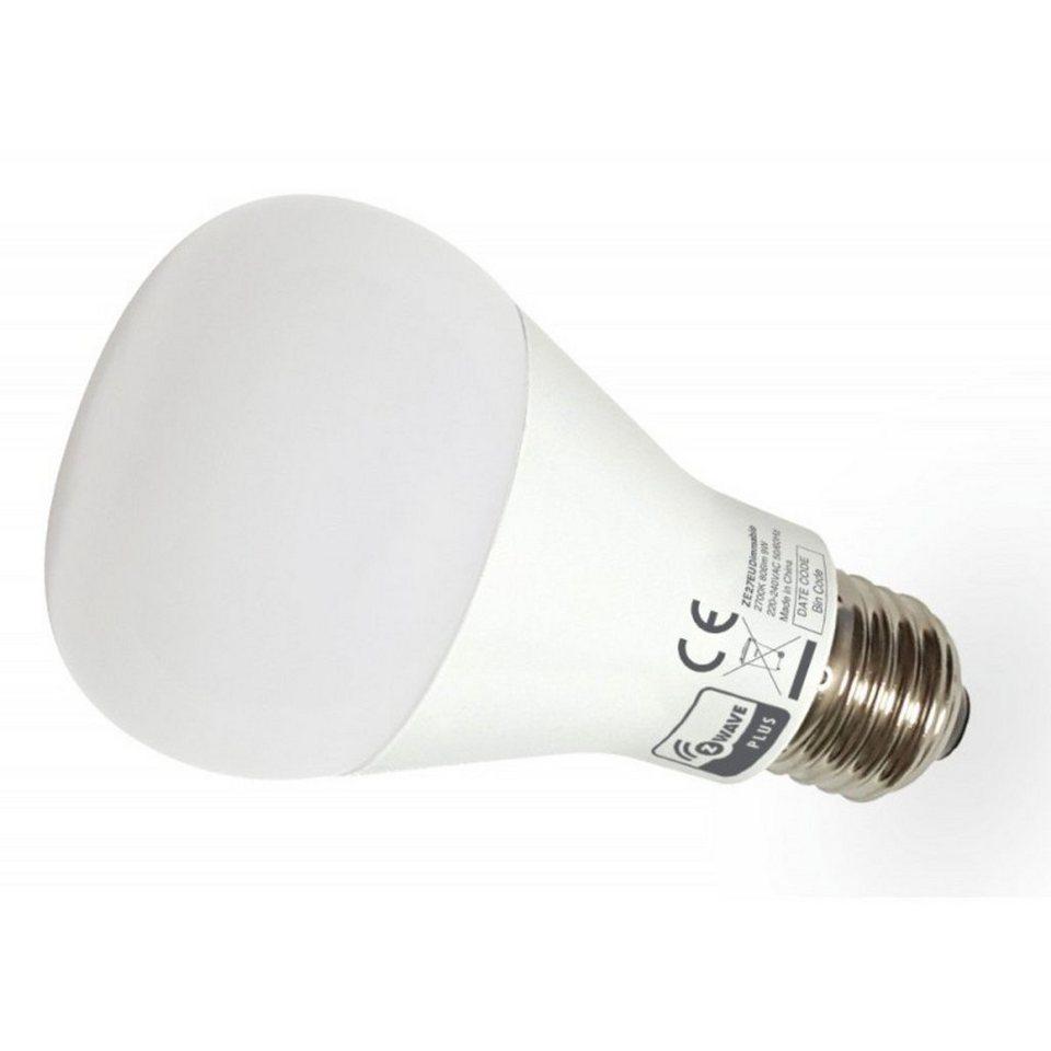 Z-Wave Smart Home Zubehör »Domitech Dimm-Leuchte ZBULB LED E27« in Weiß