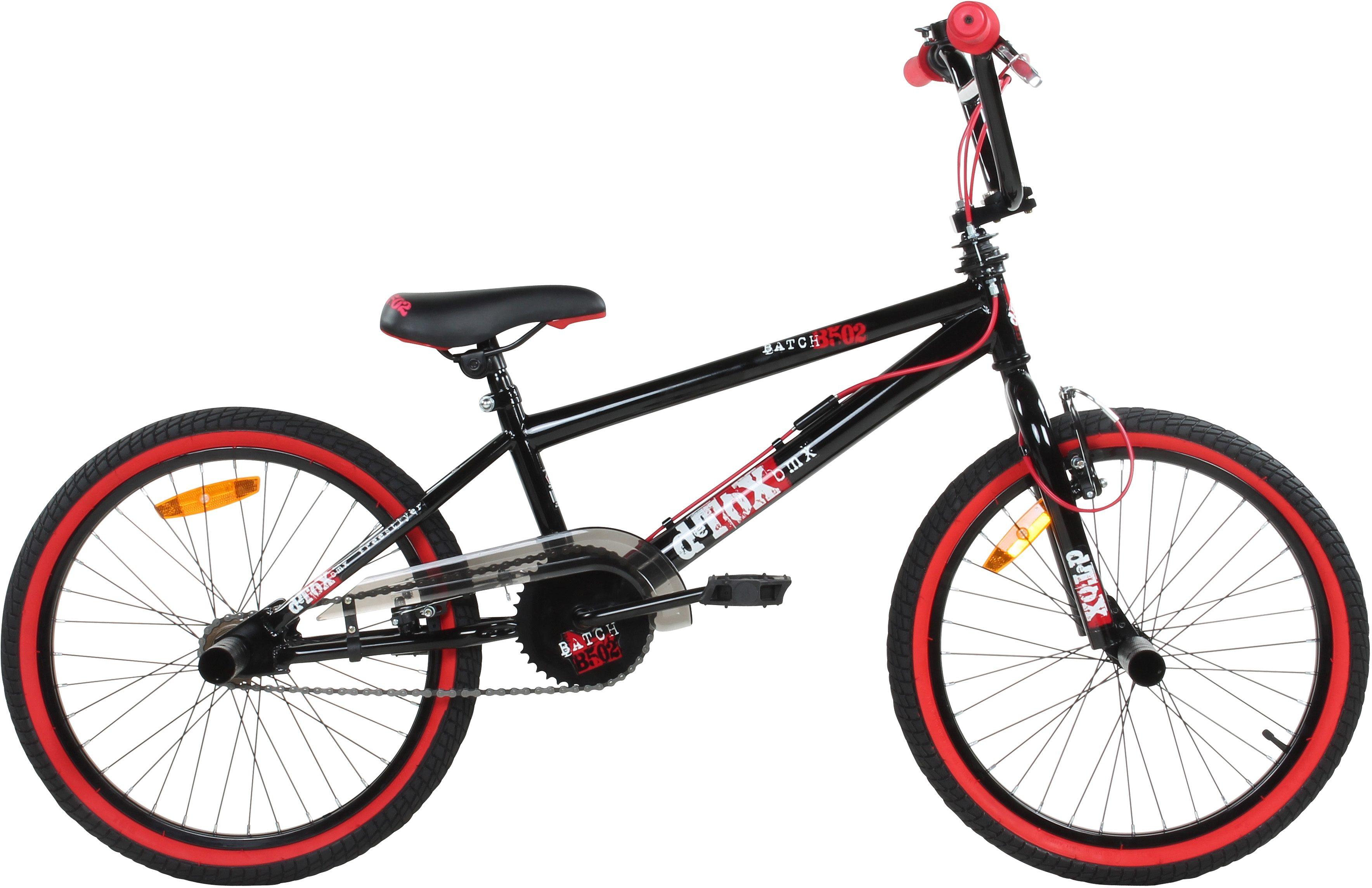 DeTox BMX, 20 Zoll, schwarz/rot, »DeTox Freestyle«