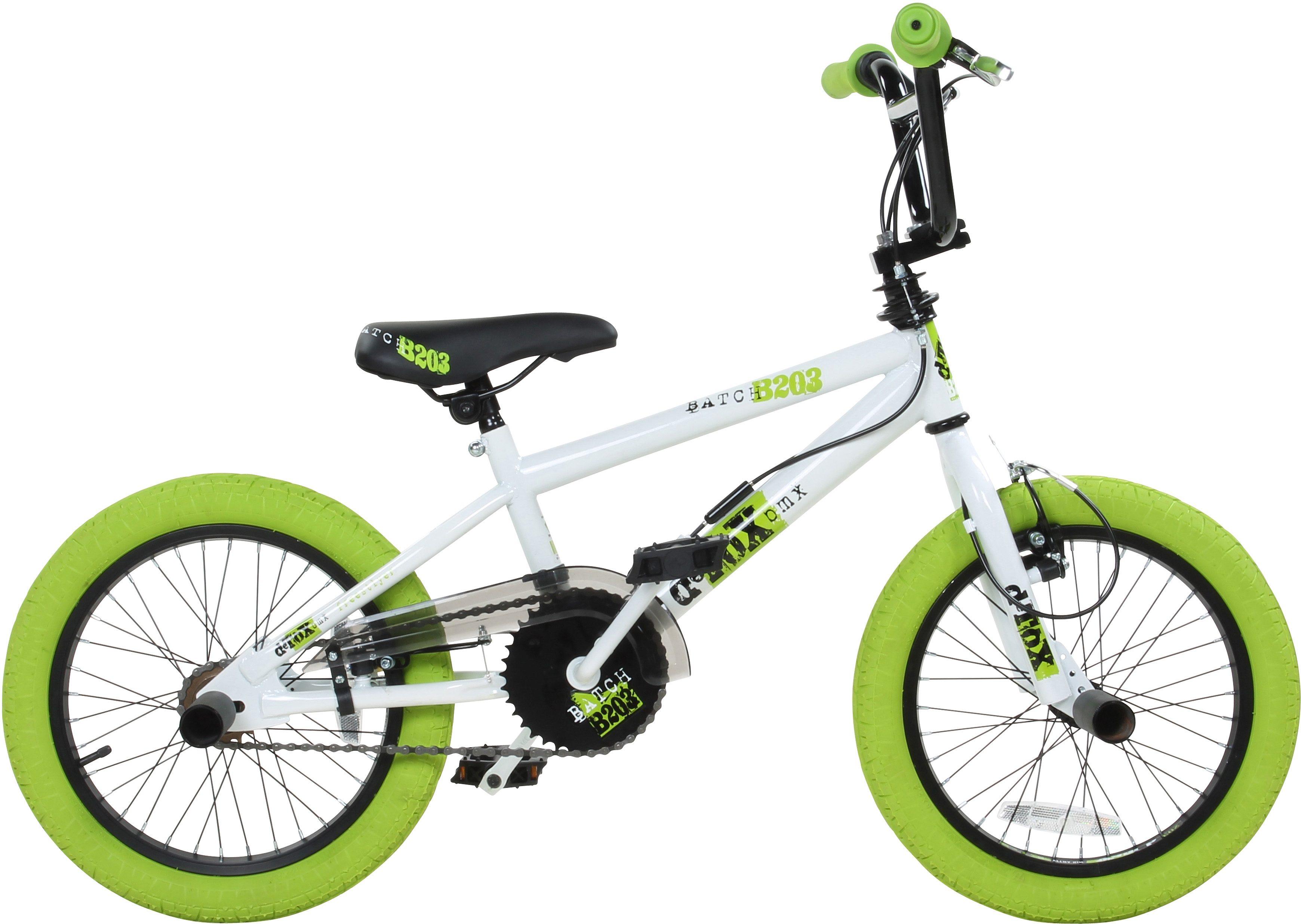 DeTox BMX, 16 Zoll, weiß/grün, »DeTox Freestyle«