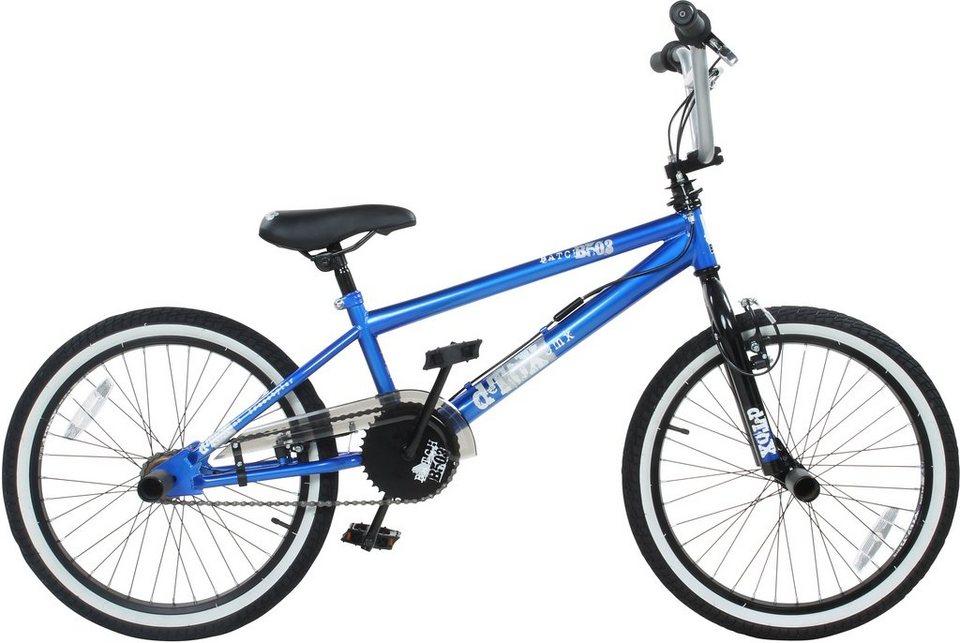 DeTox BMX, 20 Zoll, blau, »DeTox Freestyle« in blau