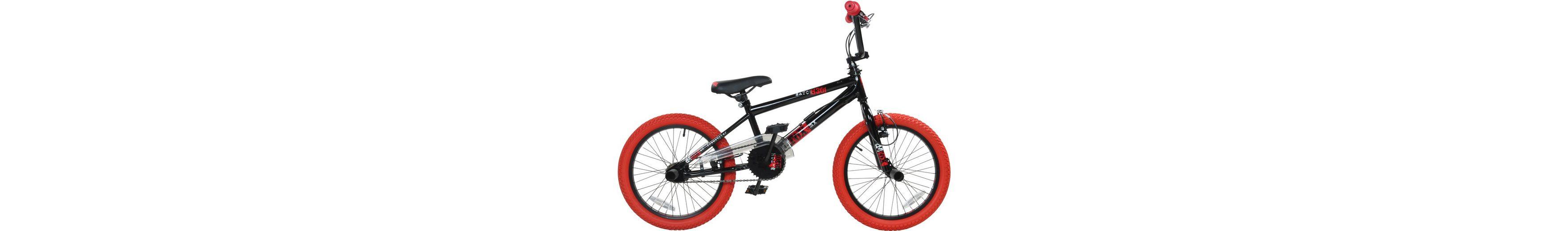 DeTox BMX, 18 Zoll, schwarz/rot, »DeTox Freestyle«