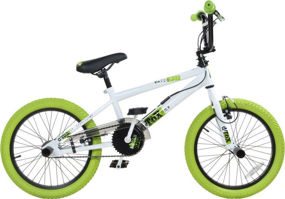 DeTox BMX, 18 Zoll, weiß/grün, »DeTox Freestyle« in weiß/grün
