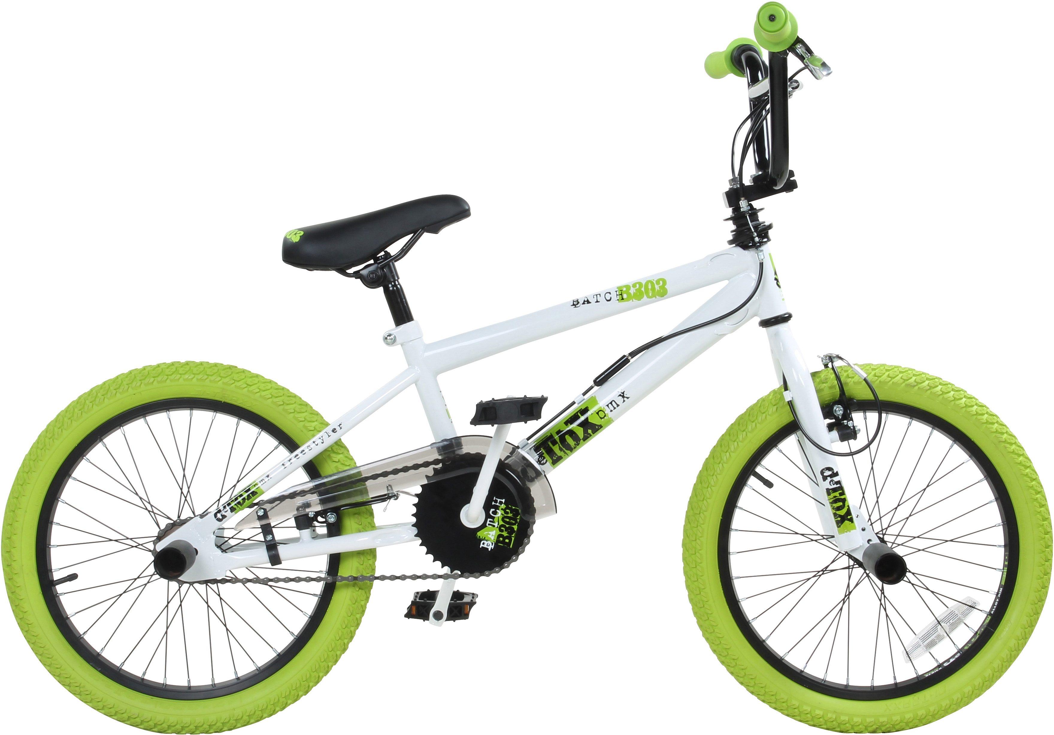 DeTox BMX, 18 Zoll, weiß/grün, »DeTox Freestyle«