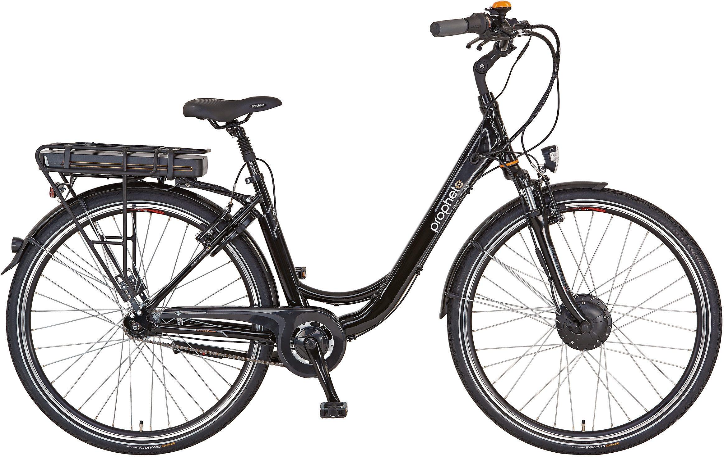 Prophete Damen Alu-City E-Bike, inkl. Smartphone, 28 Zoll, 7 Gg Shimano Nexus, »Navigator 6.01«