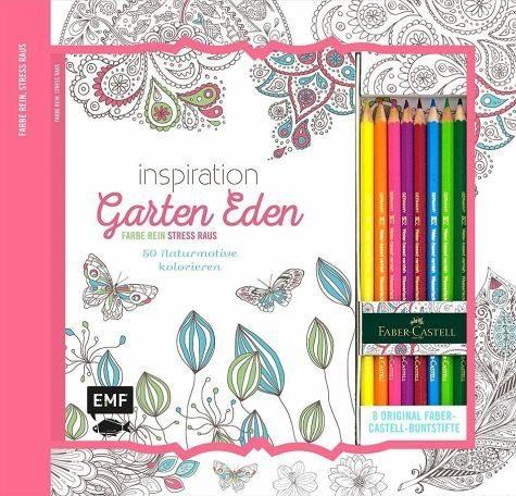 Broschiertes Buch »Kreativ-Set: Inspiration Garten Eden«