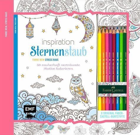 Broschiertes Buch »Kreativ-Set: Inspiration Sternenstaub«