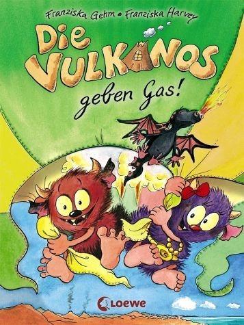 Gebundenes Buch »Die Vulkanos geben Gas! / Vulkanos Bd.5«
