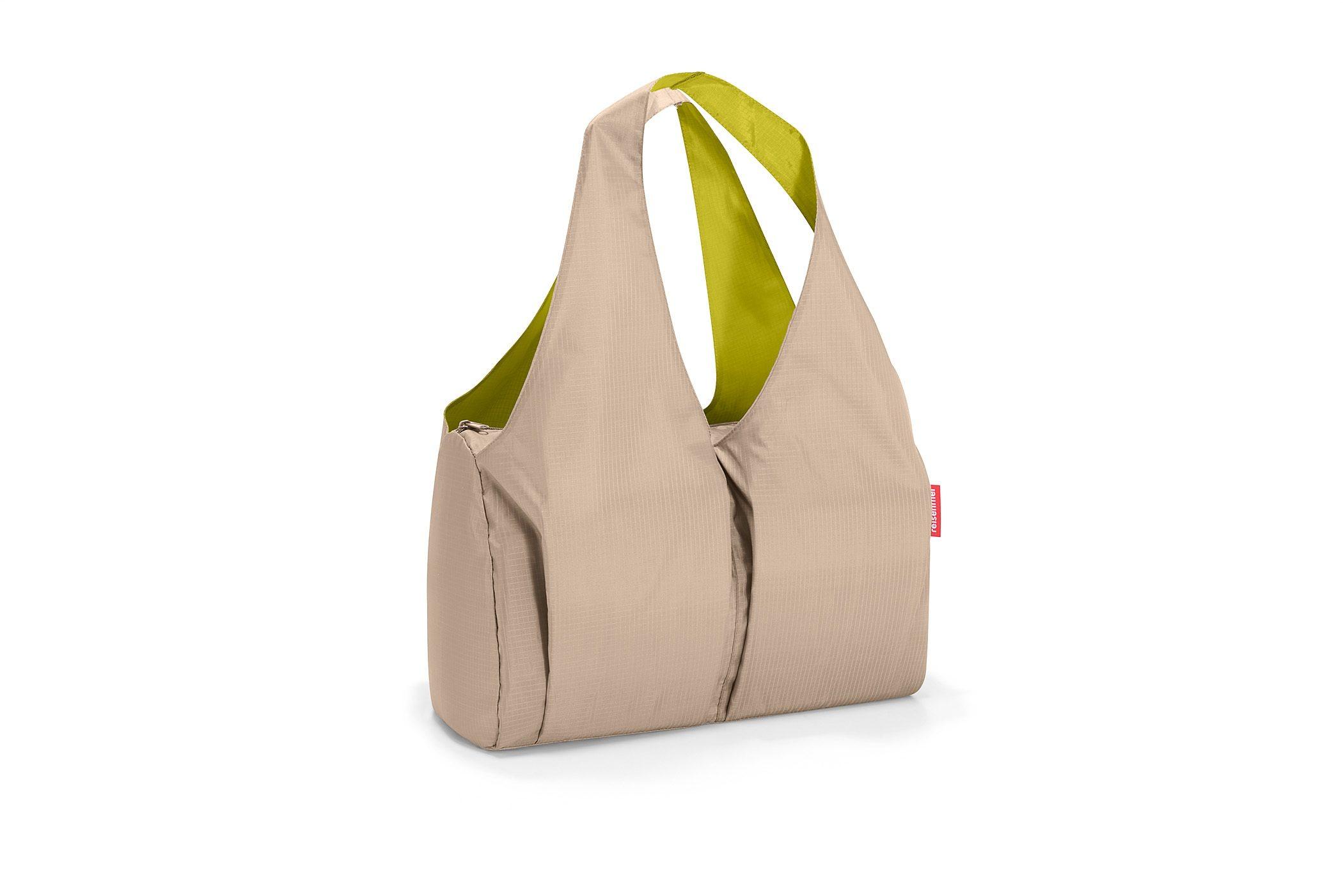 REISENTHEL® Schultertasche »mini maxi happybag taupe«