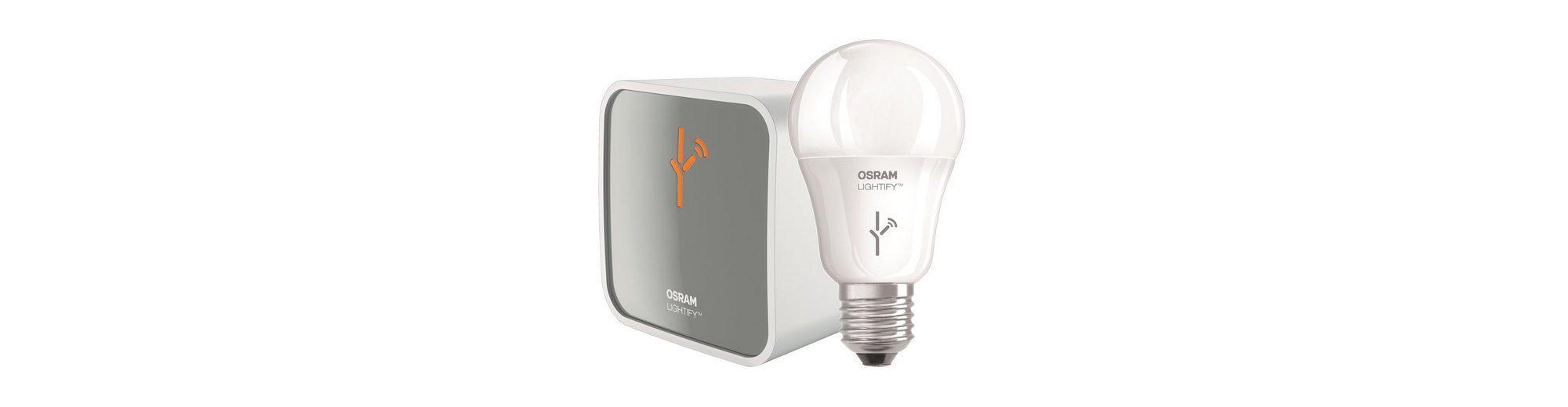 Osram Lightify Smart Home Starter Set »1xGateway + 1xCLA60 RGBW«