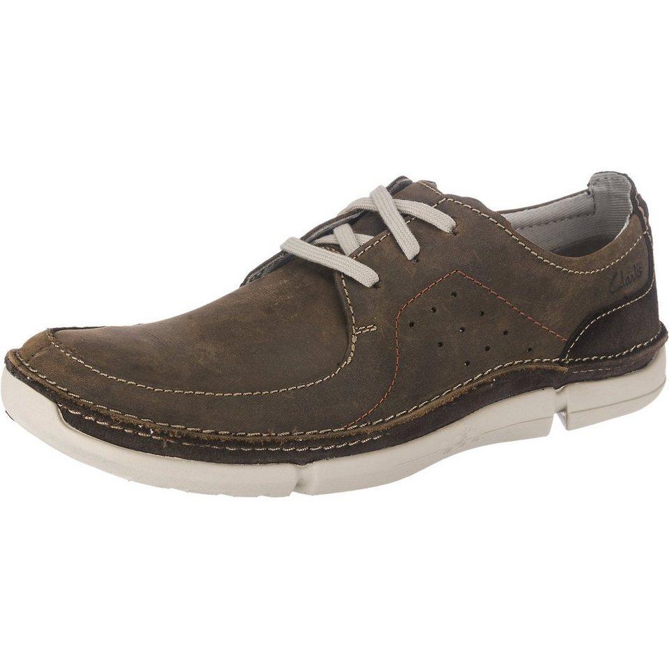 Clarks Trikeyon Fly Freizeit Schuhe in dunkelbraun