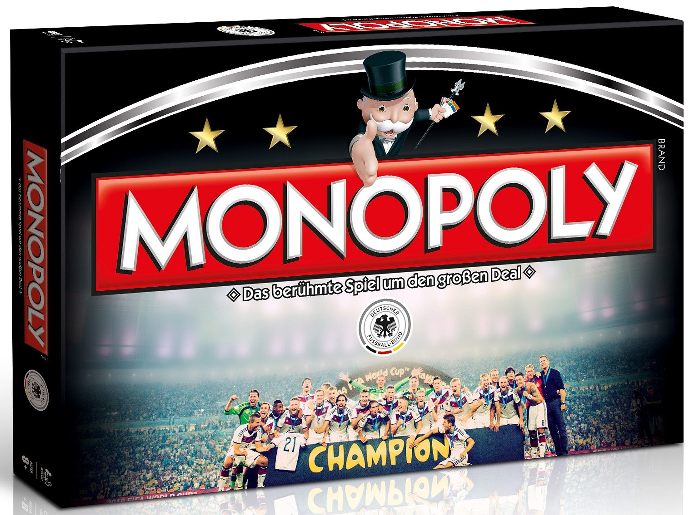 Hasbro Familien-Spiel, »Monopoly Die Mannschaft«