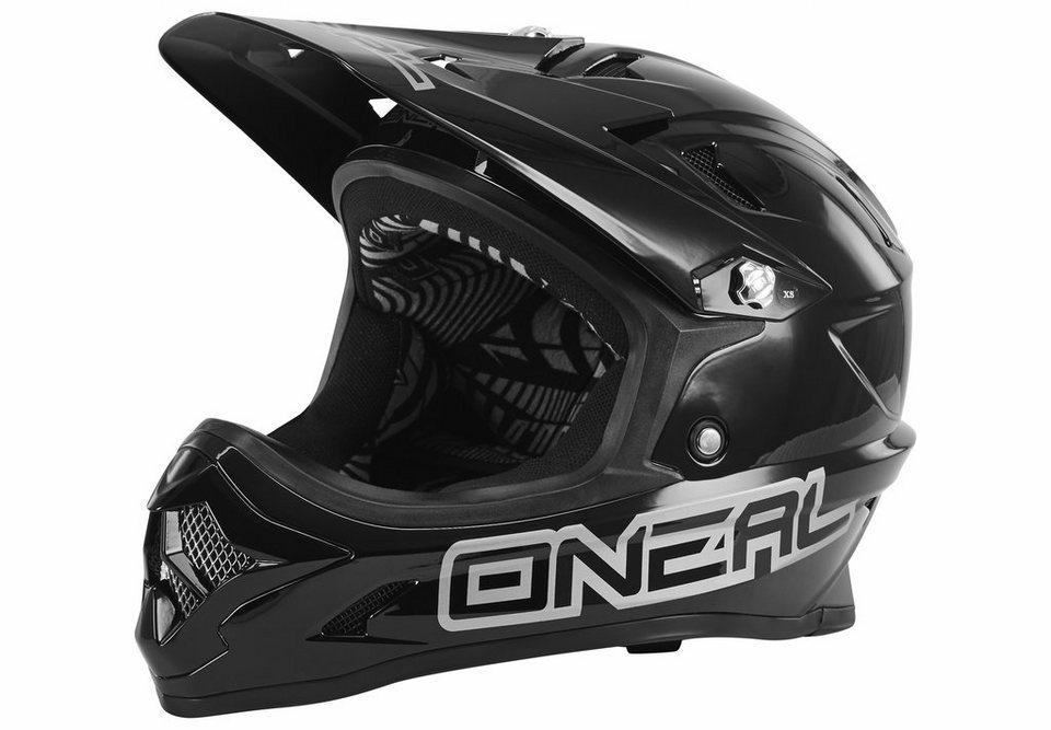 O'NEAL Fahrradhelm »Backflip Fidlock Helmet RL2 Solid« in schwarz