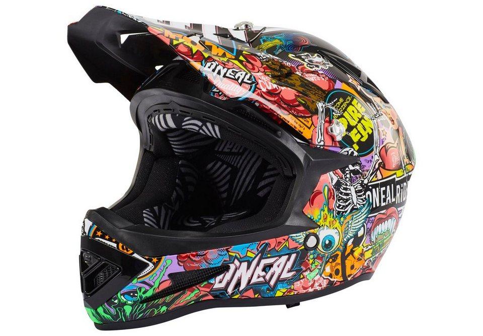 O'NEAL Fahrradhelm »Warp Fidlock Helmet Crank« in bunt