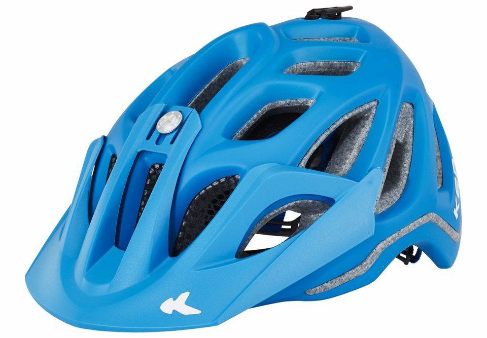 KED Fahrradhelm »Trailon Helmet« in blau