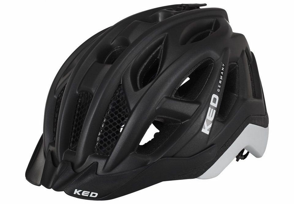KED Fahrradhelm »Pylos Helmet« in schwarz