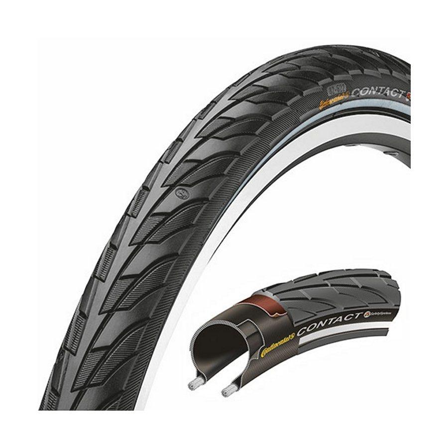 "Continental Fahrradreifen »Contact II 28x1,75"" Draht Reflex«"