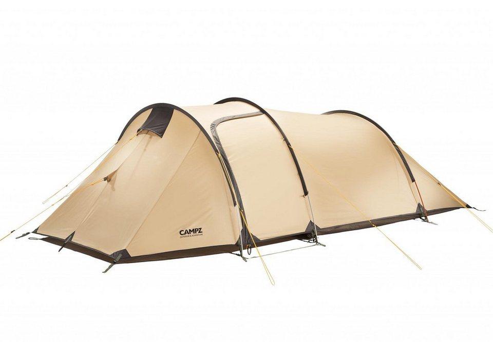 CAMPZ Zelt »Piemonte Zelt 3P« in beige