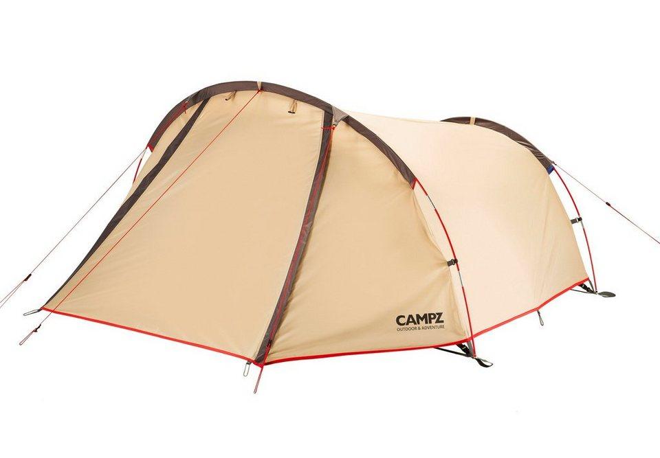 CAMPZ Zelt »Trentino Zelt 2P« in beige