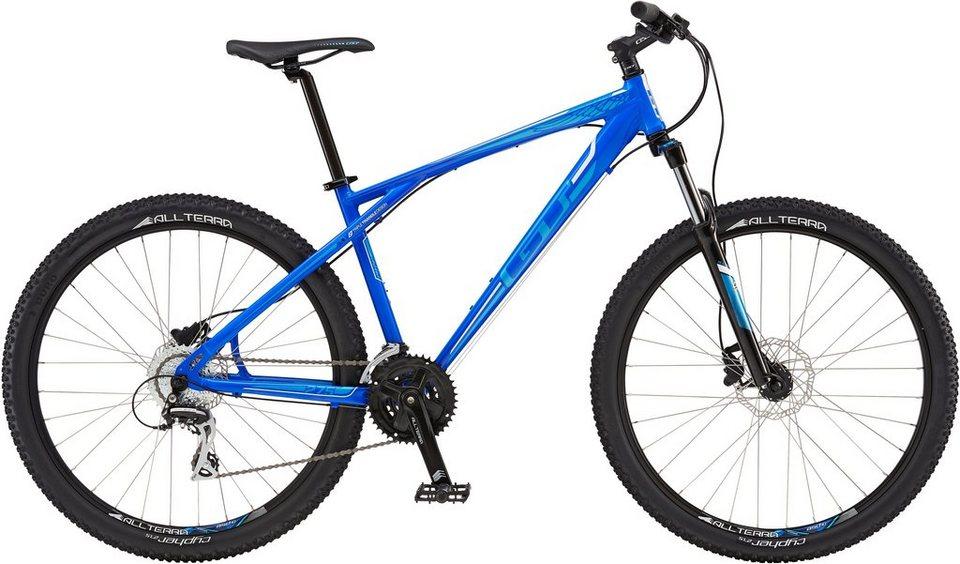 GT Mountainbike, 27,5 Zoll, 24 Gang Shimano, »Agressor Expert« in blau