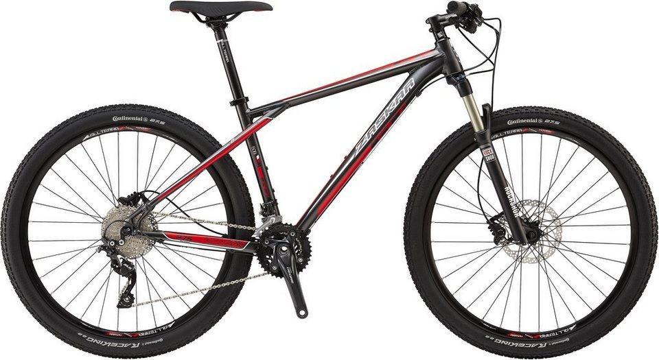 GT Mountainbike, 27,5 Zoll, 20 Gang Shimano Kettenschaltung, grau/rot, Herren, »Zaskar Comp« in grau/rot