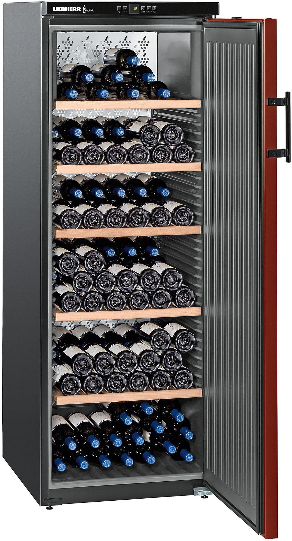 Liebherr Weinkühlschrank WKr 4211-21, A++, 165 cm, für 200 Bordeauxflaschen á 0,75l