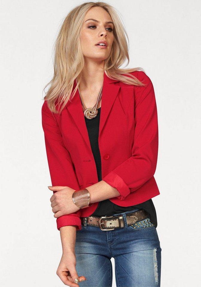 Damen Melrose Kurzblazer rot | 06926214790848