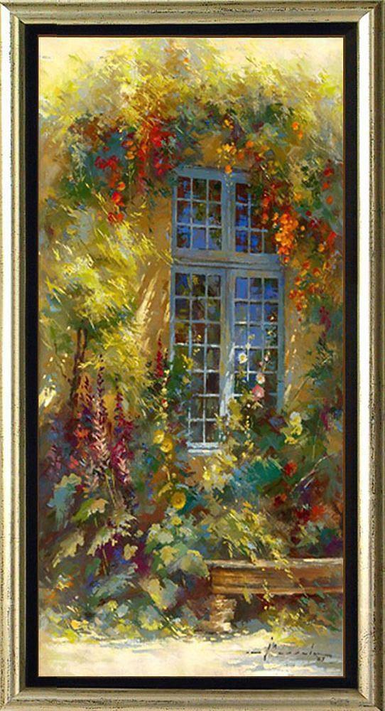 Home affaire, Schattenfugenbild, »Blumenspiel (Blumensatz)«, 55/105 cm