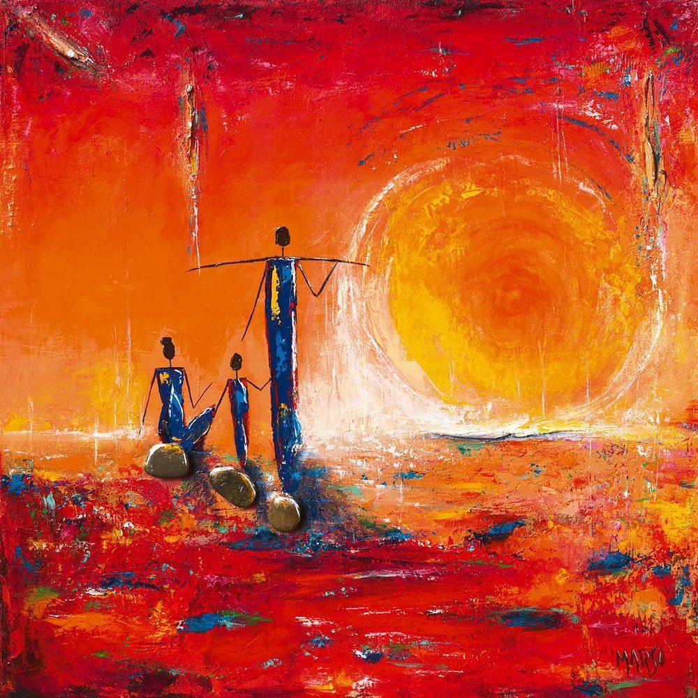 Home affaire, Deco Panel, »Sonne«, 70/70 cm