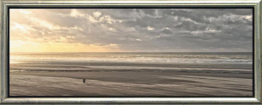 Premium Picture, Schattenfugenbild, »Allein in der Welt«, 100/38 cm