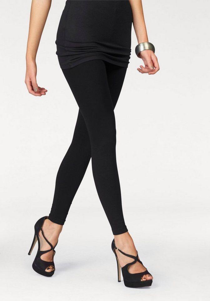 Melrose Leggings (Packung, 2er-Pack) in schwarz+schwarz