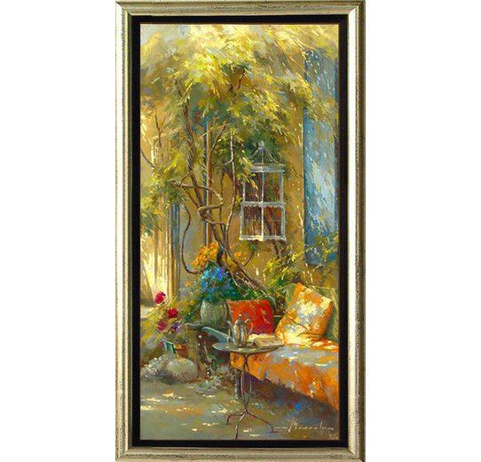 Home affaire, Schattenfugenbild, »Teestunde«, 55/105 cm