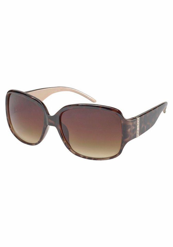 catwalk Eyewear Sonnenbrille in modischer Form in braun