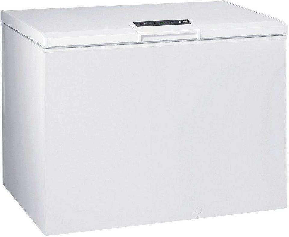 Gorenje Gefriertruhe FHE 242 IW, Energieklasse A++, 110 cm breit in weiß