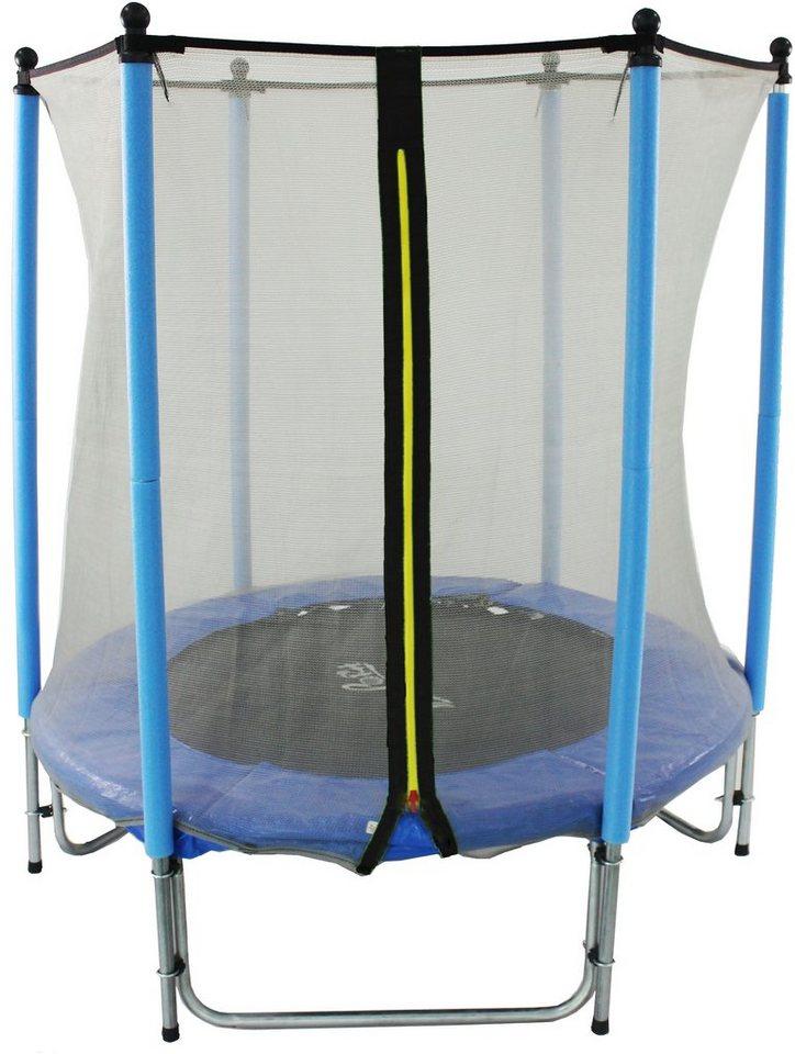 Joka Fit Kindertrampolin Sport, Ø 140 cm in blau