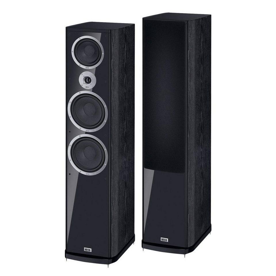 HECO Music Style 1000, Standlautsprecher, 1 Paar in Schwarz