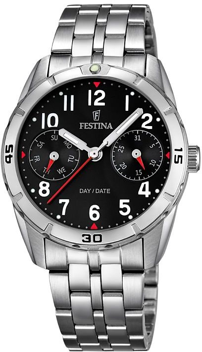 Festina Multifunktionsuhr »F16908/3« in silberfarben