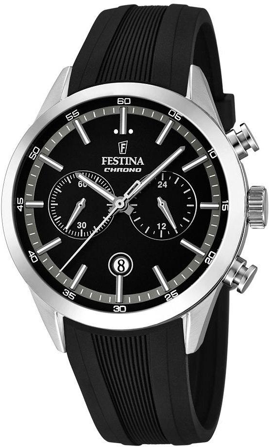 Festina Chronograph »F16890/2« in schwarz