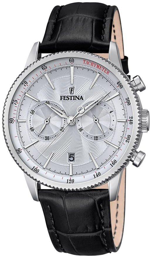 Festina Chronograph »F16893/1« in schwarz