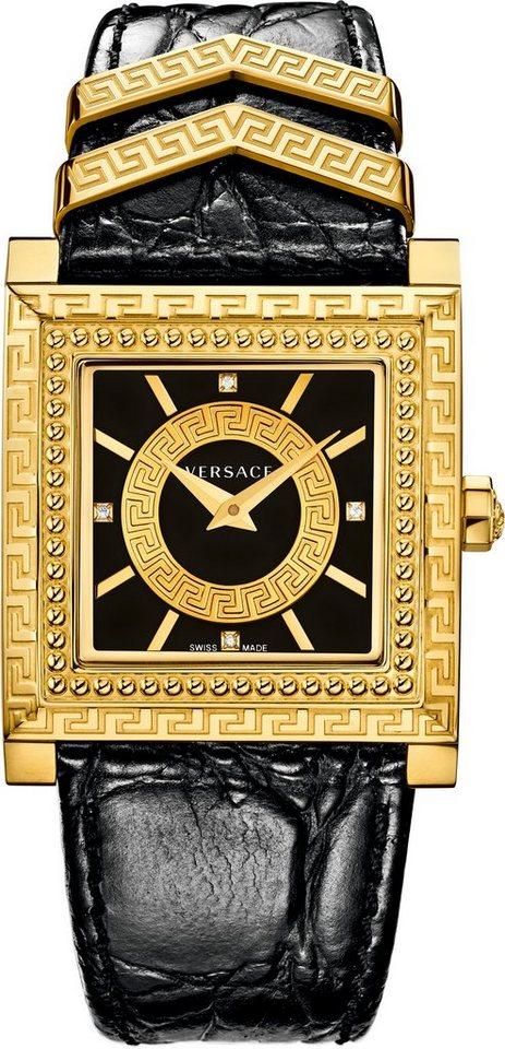 Versace Schweizer Uhr »DV25, VQF020015« in schwarz