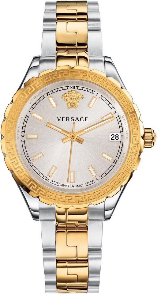 Versace Schweizer Uhr »HELLENYIUM, V12030015« in silberfarben-goldfarben