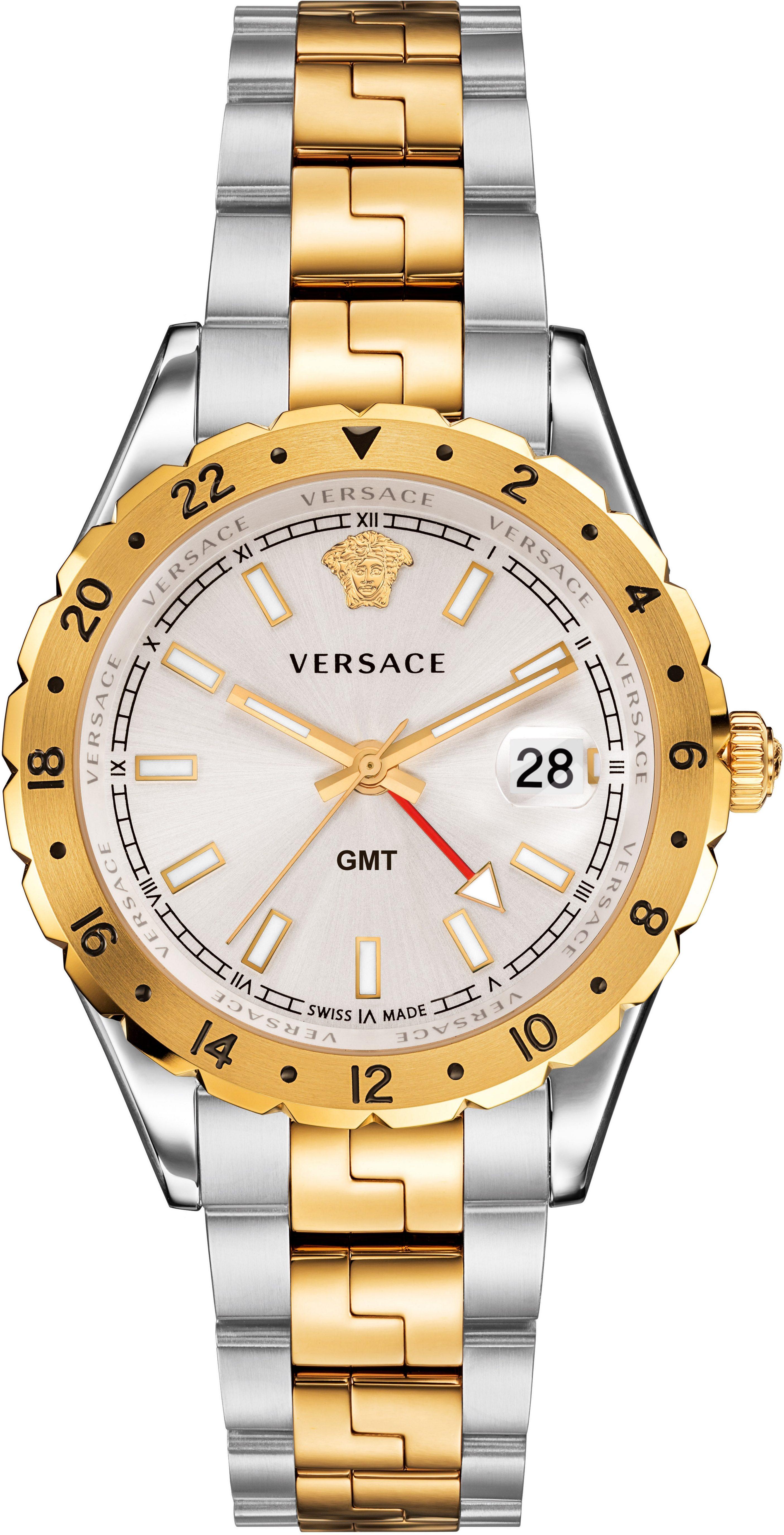 Versace Schweizer Uhr »HELLENYIUM GMT, V11030015«