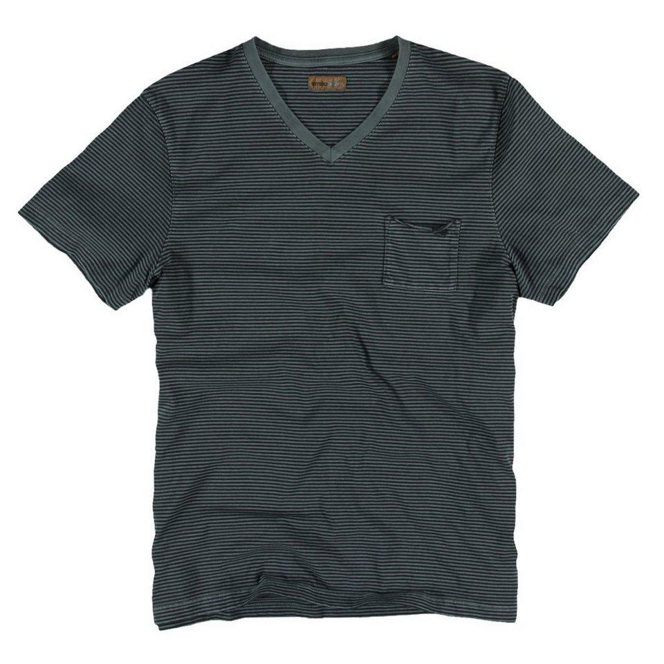 emilio adani T-Shirt in Marineblau